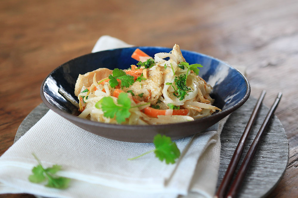Pad Thai with chicken breast