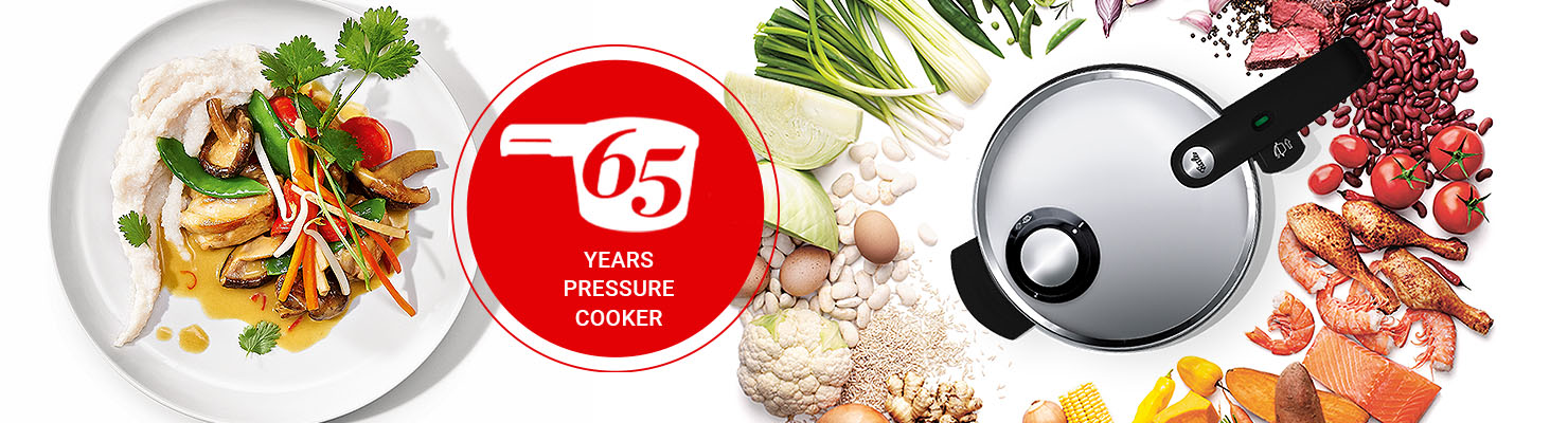 65 years pressure cooker
