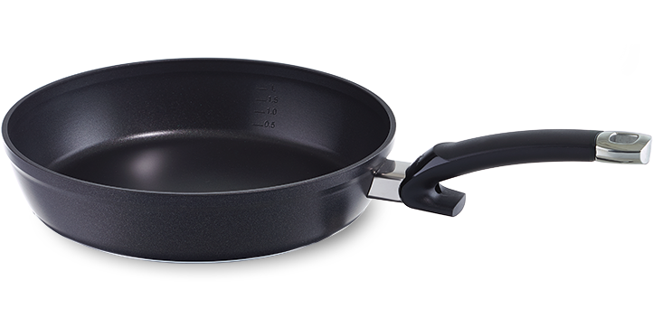 Pan with non-stick coating