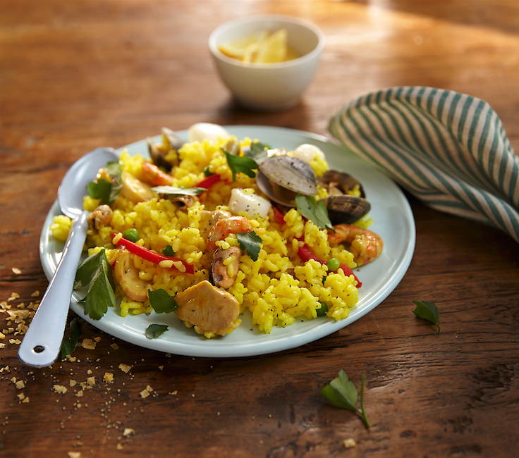 Fast and Easy: 5-Minute Paella