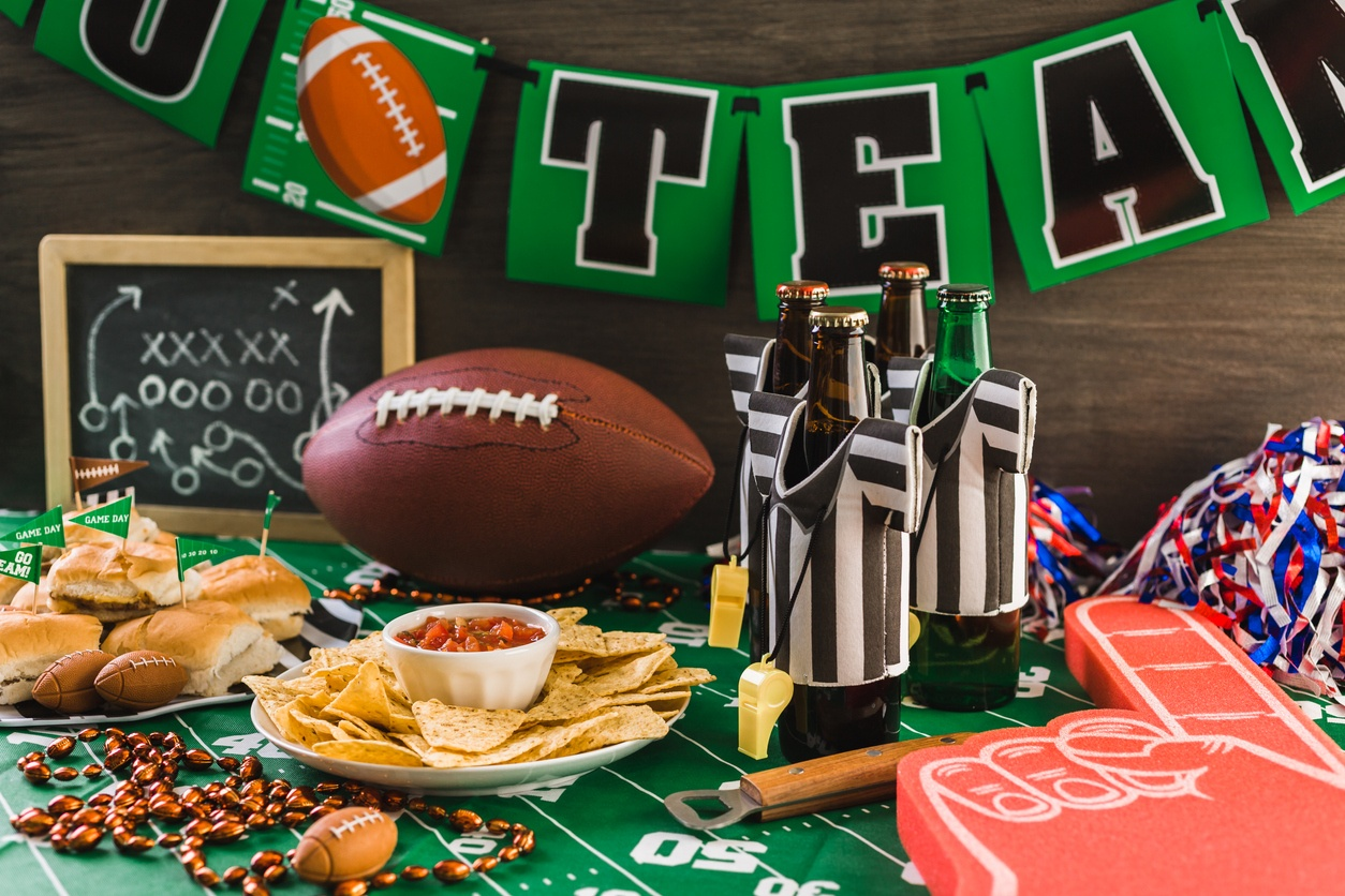 Football Deko: Ideen für die Super Bowl Party