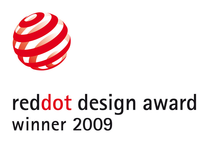 reddot design Award winner 2009